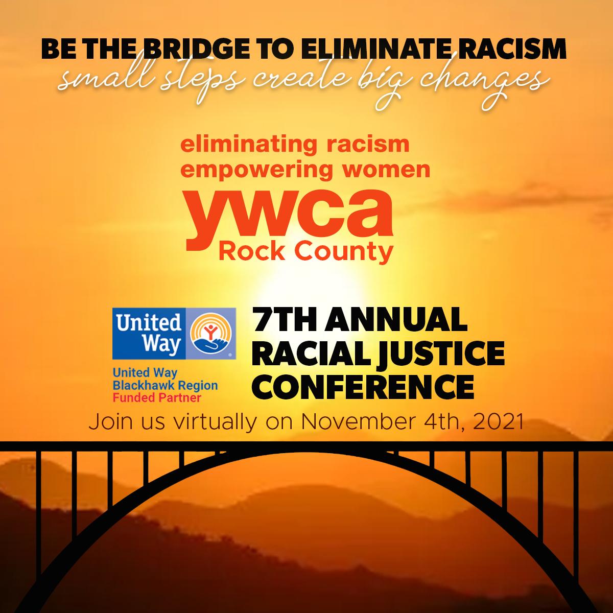 Racial Justice Conference 2021 @ Virtual via Virtual Conference